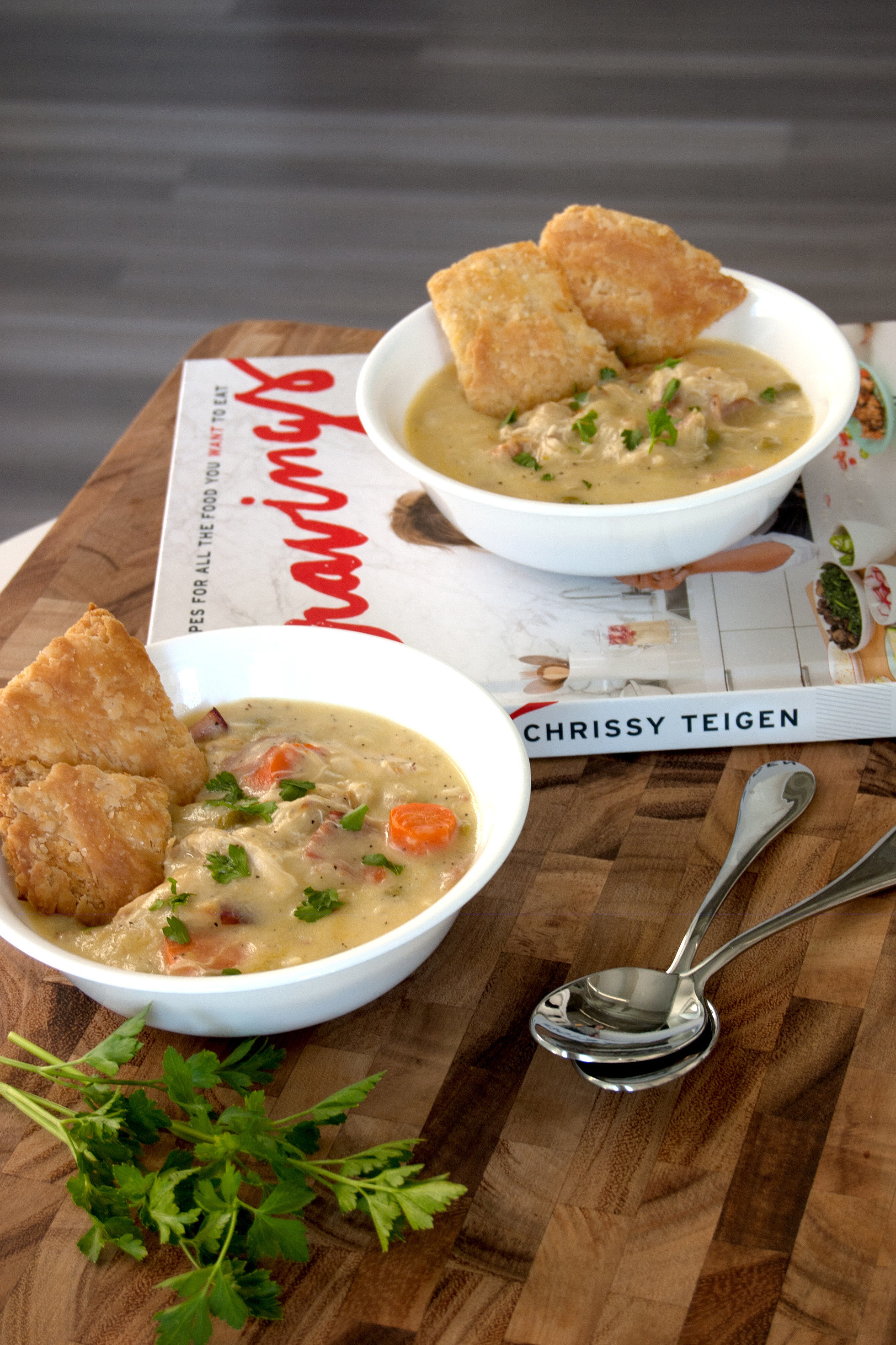 Chicken Pot Pie Soup Recipe | POPSUGAR Food