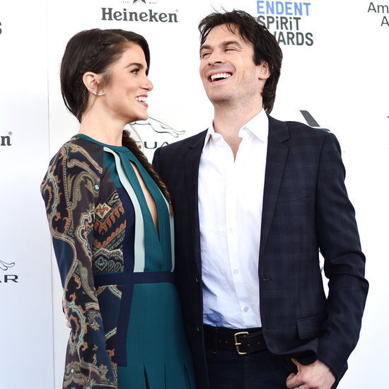 Ian Somerhalder and Nikki Reed at Spirit Awards 2016