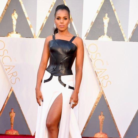 Kerry Washington Talks Oscars Controversy on Red Carpet