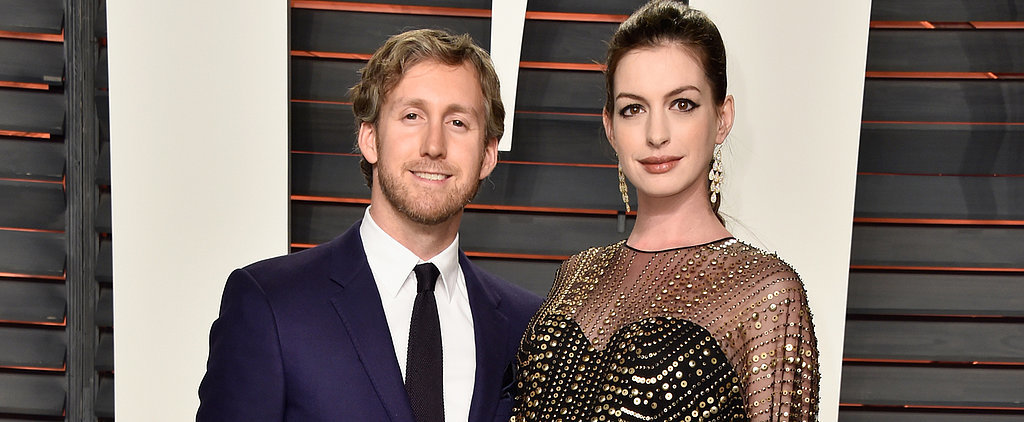 Anne Hathaway Flaunts Her Baby Bump From All Angles at Vanity Fair's Oscars After-Party