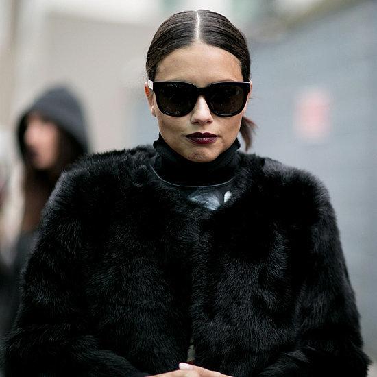 Model Street Style at Fashion Week Fall 2016