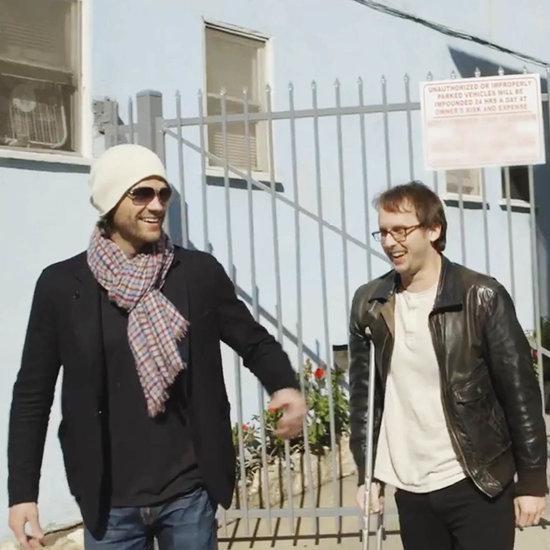 Jared Padalecki Gives Friend Guitar