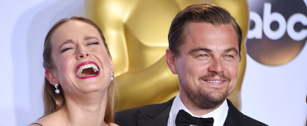 Leonardo DiCaprio Had the Time of His Life at the Oscars
