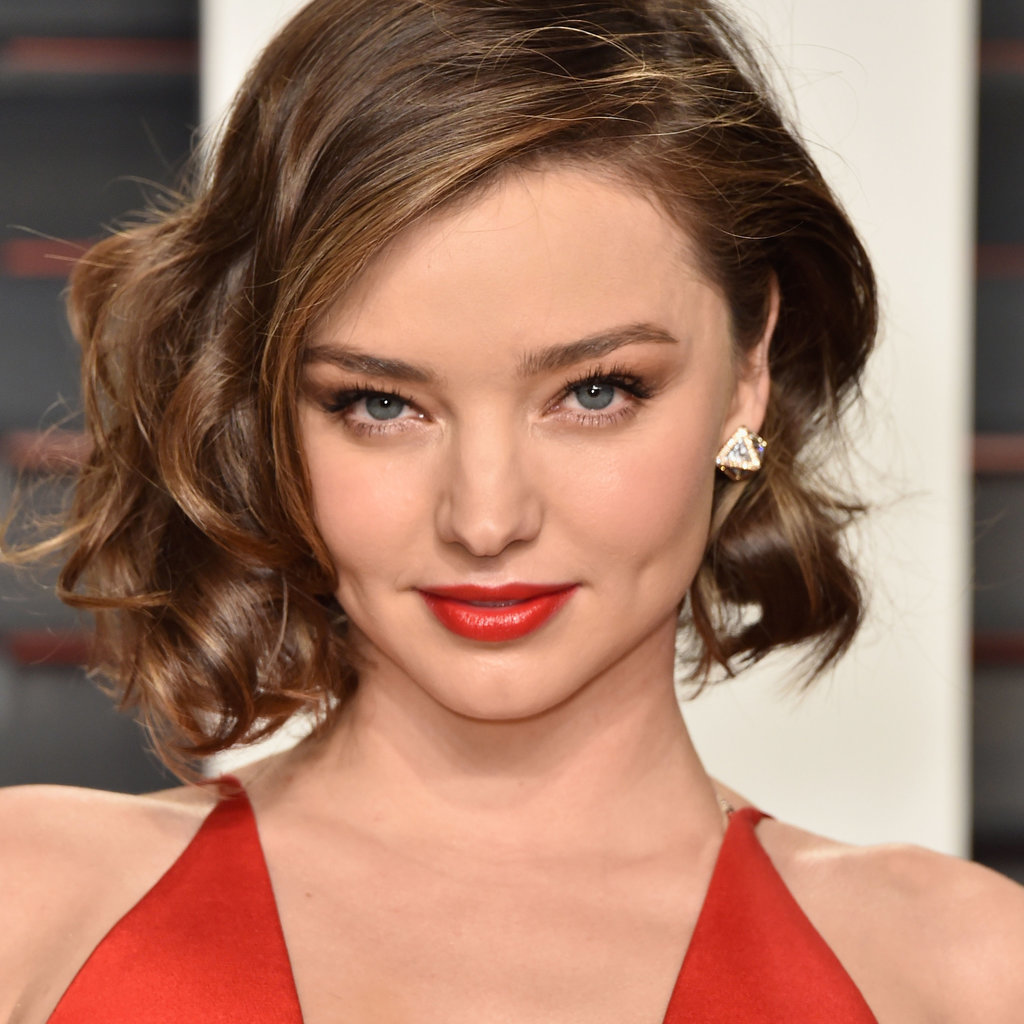 Miranda Kerr Oscars Vanity Fair Party Hair and Makeup 2016 ... Miranda Kerr