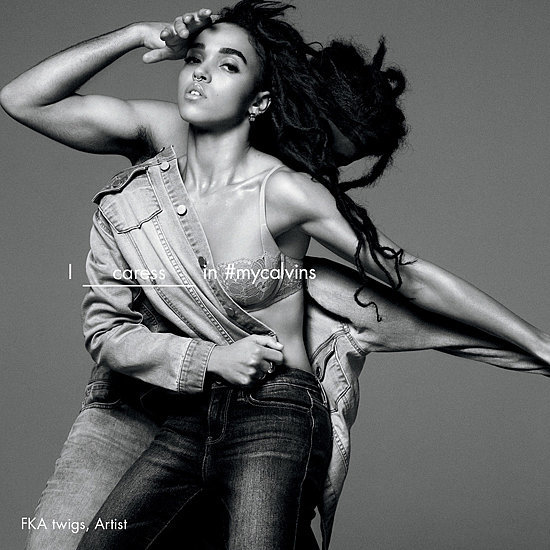 FKA Twigs Calvin Klein Jeans Campaign Spring 2016