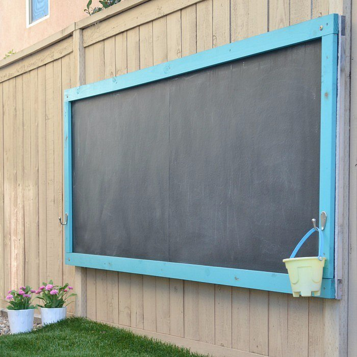Diy Outdoor Chalkboard Popsugar Home