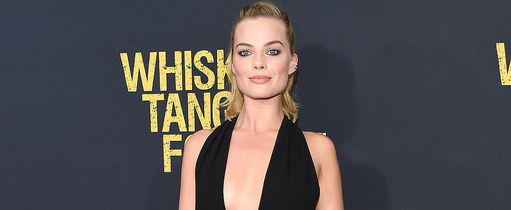 Margot Robbie Wears 2 Sexy Black Jumpsuits in 1 Night Like a Total Champ