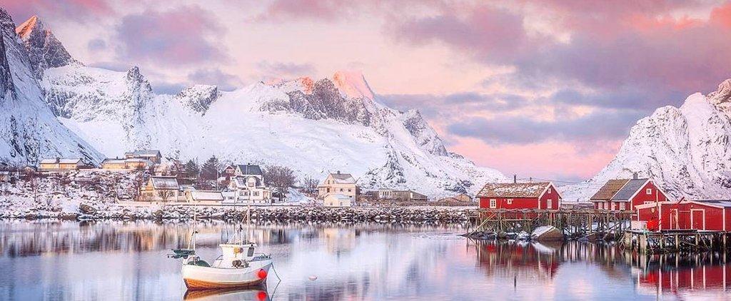 Instagram of the Day: A Norwegian Sunrise Over the Lofoten Islands