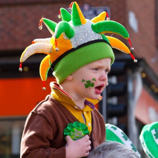 Kids Not Celebrating St. Patrick's Day