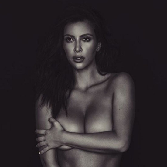 Kim Kardashian Naked Instagram Photos