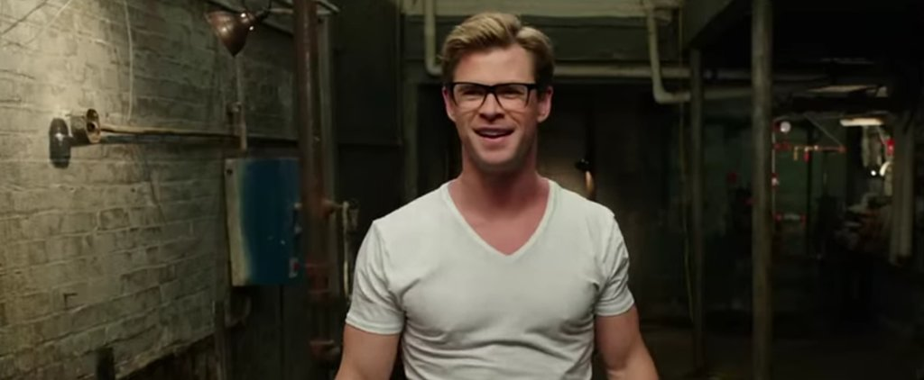 Chris Hemsworth Is Hot and Nerdy in the New Trailer For Ghostbusters