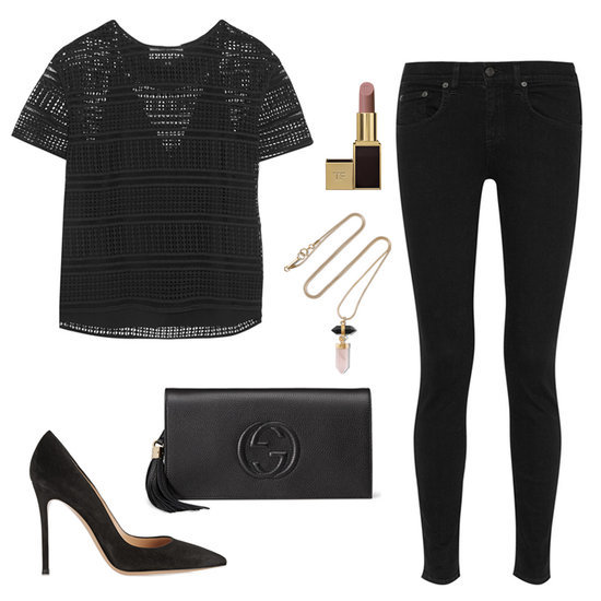 The All-Black Outfit You Should Wear Out Tonight