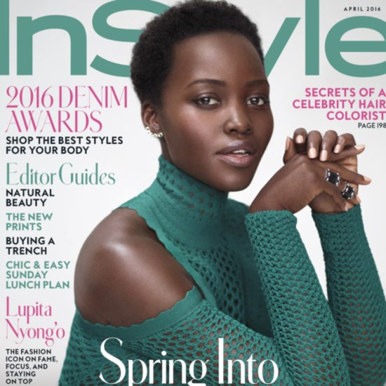 Lupita Nyong'o on Her Short Hair For InStyle April 2016