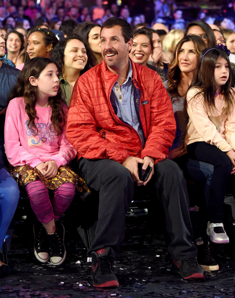 Adam Sandler and Daughters at Kids' Choice Awards 2016 ...