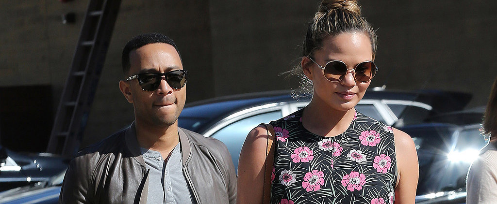 Chrissy Teigen's Baby Bump Is in Full Bloom, and It Could Not Be Any More Precious