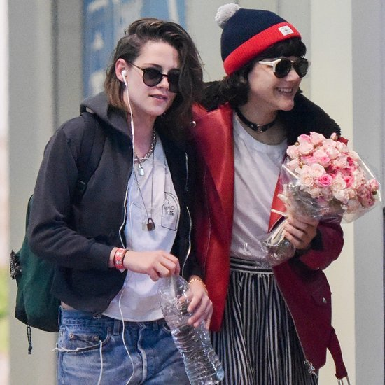 Kristen Stewart and Soko at Paris Airport 2016
