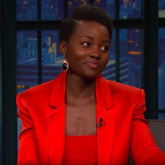 Lupita Nyong'o on Late Night With Seth Meyers 2016 Video