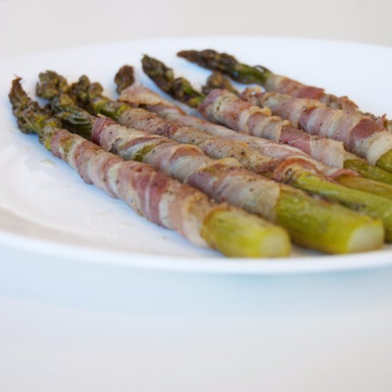 Pancetta-Wrapped Asparagus Recipe