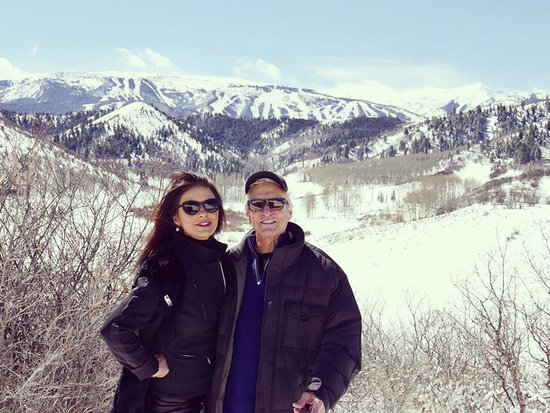 Catherine Zeta-Jones and Michael Douglas Return to the Romantic Spot Where He Proposed