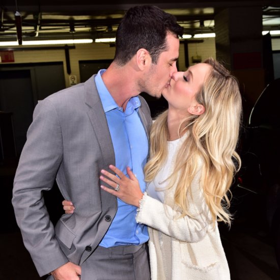 Ben Higgins Lauren Bushnell Kiss in NYC March 2016