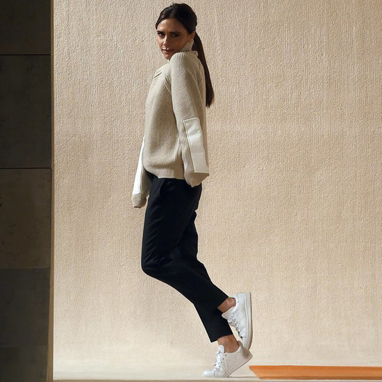 White Trainers Like Victoria Beckham's