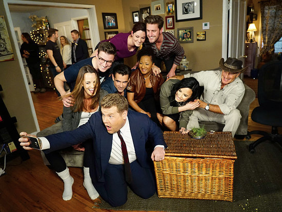 Spot the Celebrity! James Corden Crashes a Fan's House for a Game of Hide and Seek with Colin Farrell, Demi Lovato and More Star
