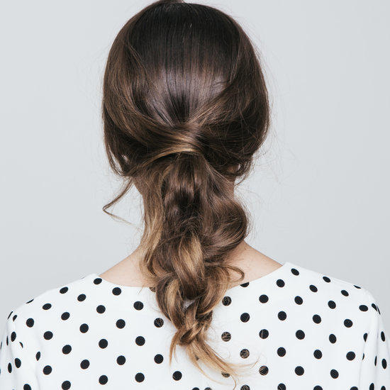 Tie a Knot Hair Style How To