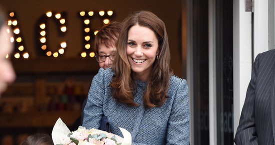 A Duchess After Our Own Hearts: Kate Shops At A Thrift Store In An Old Blue Coat