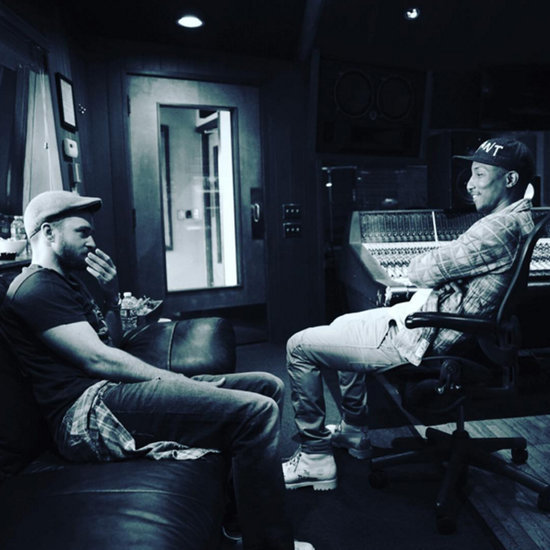 Justin Timberlake and Pharrell Williams in the Studio 2016