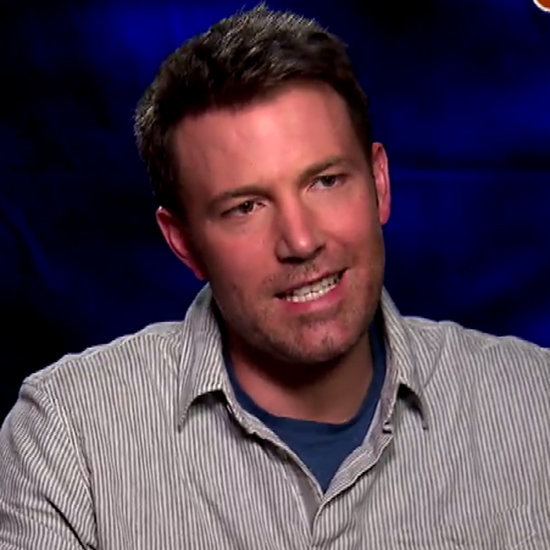 Ben Affleck Talks About His Back Tattoo March 2016