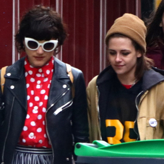 Kristen Stewart and Soko Hold Hands in Paris March 2016