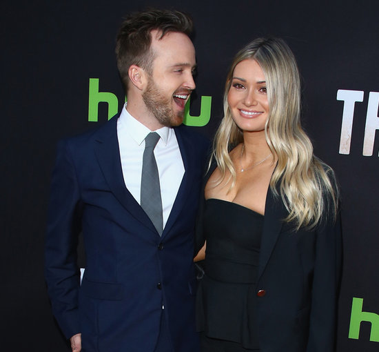 Aaron Paul and Lauren Parsekian at The Path Premiere 2016