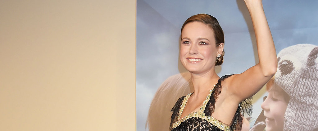 Fashion Superhero Brie Larson Is Back at It With the Amazing Dresses