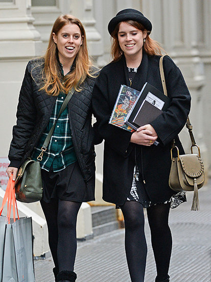 Princesses Take New York! Eugenie and Beatrice Share a Shopping Day in the Big Apple