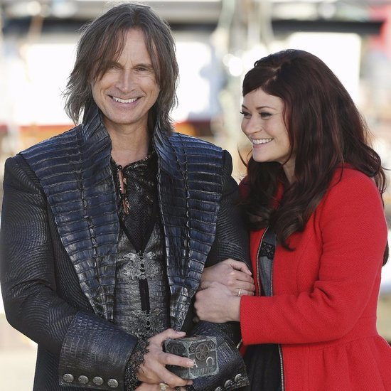 Rumplestiltskin and Belle Moments on Once Upon a Time
