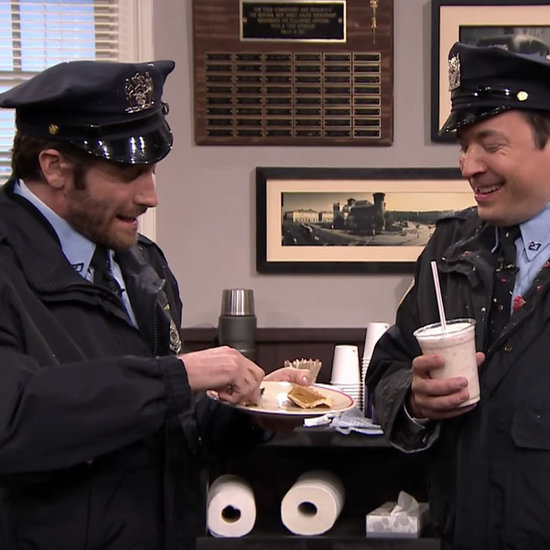 Jake Gyllenhaal and Jimmy Fallon Spitting Police Video 2016
