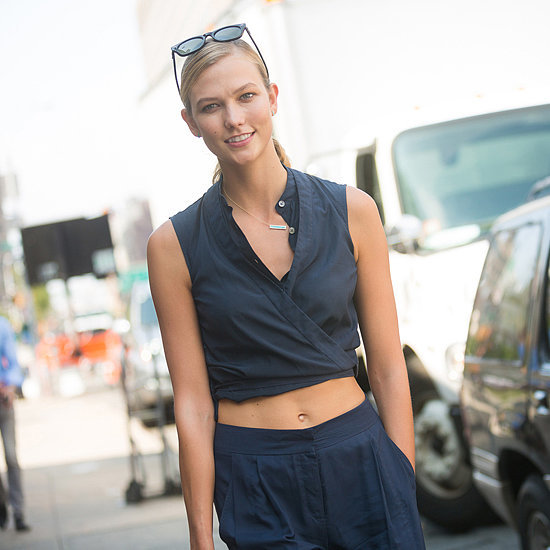 Karlie Kloss Wearing Sneakers