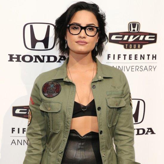 Demi Lovato's Glasses