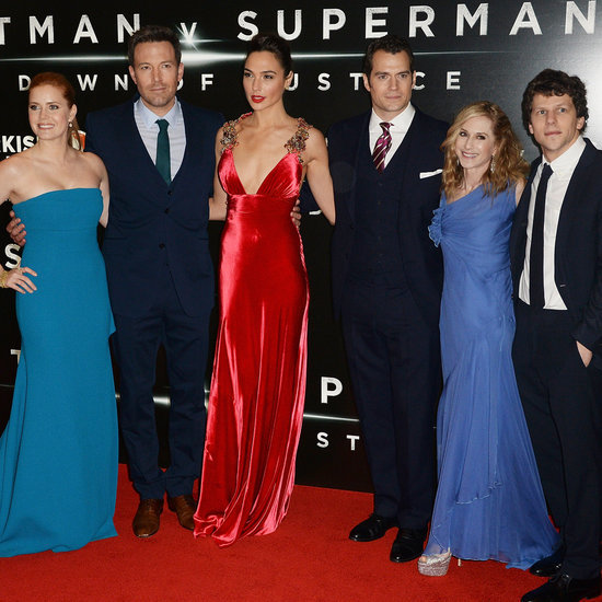 Celebrities at the Batman v Superman UK Premiere