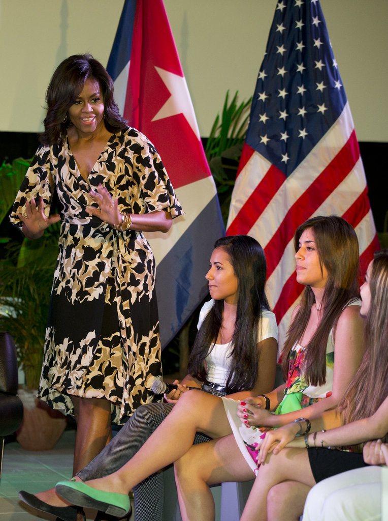 The Obamas Style In Cuba Popsugar Fashion