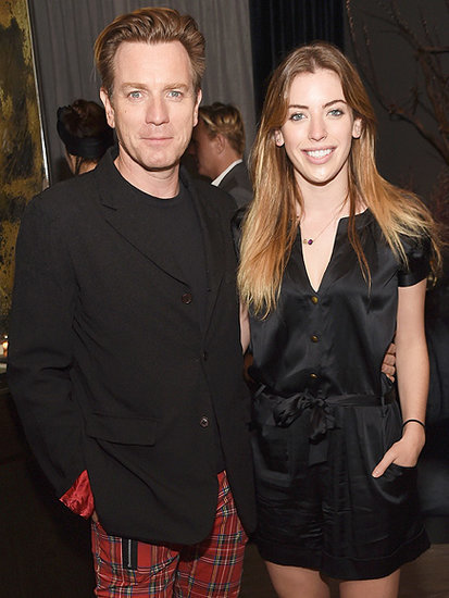 Ewan McGregor Brings His Stunning Daughter to Miles Ahead Premiere for Glam Family Night Out