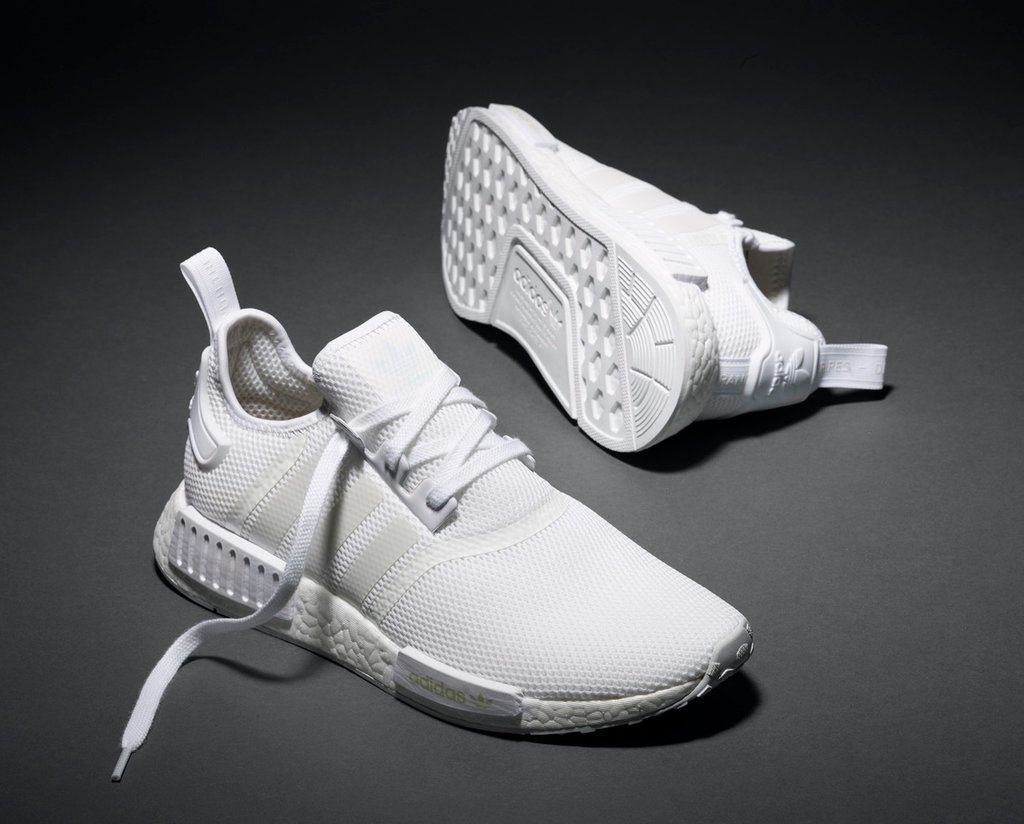 new adidas triple white nmd sneakers popsugar fitness. Black Bedroom Furniture Sets. Home Design Ideas