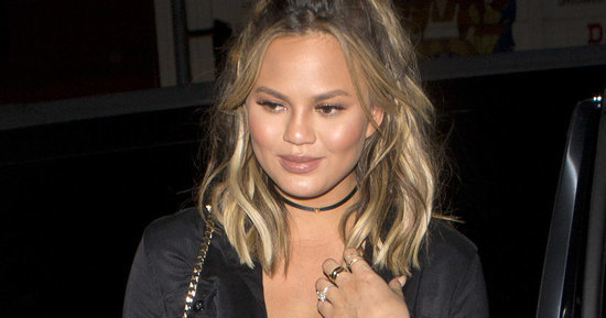 Chrissy Teigen Wore Mostly Just Pants To Lady Gaga's Birthday