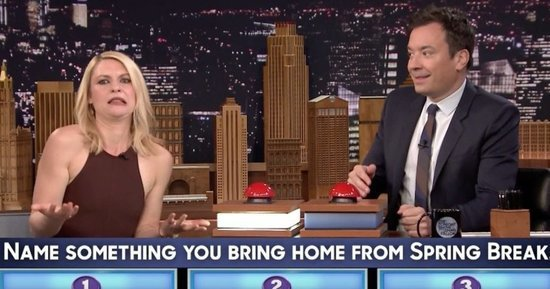 Claire Danes Puts All Other 'Family Feud' Fails To Shame