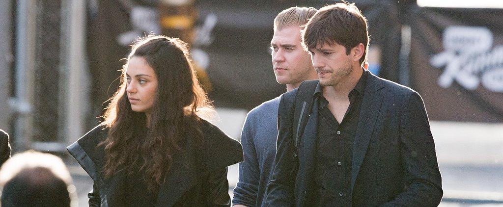 Ashton Kutcher Keeps Mila Kunis Close During Their Outing in LA