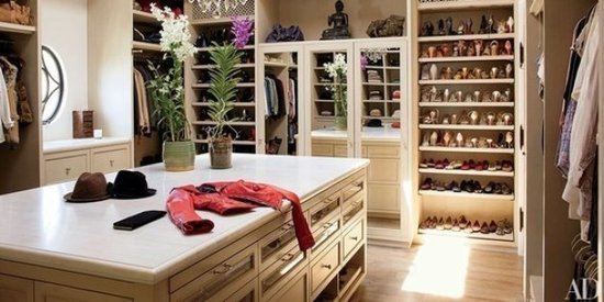 Peek Into 5 Beautiful Celebrity Closets