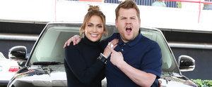 The Best Moments From Jennifer Lopez's Carpool Karaoke Sesh With James Corden