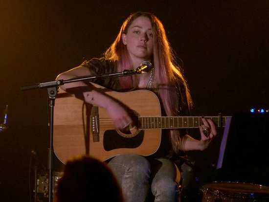 She Sings and Strums! Amber Heard Shows Off Musical Chops in One More Time Exclusive Clip