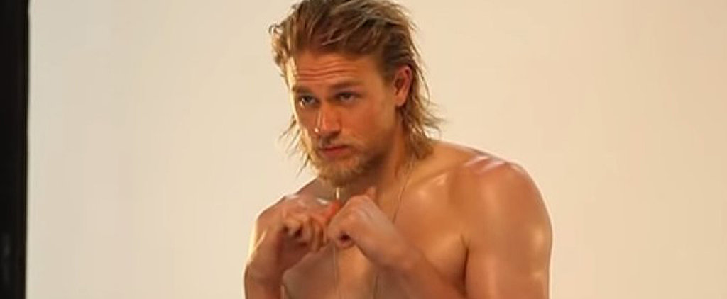 Shirtless Charlie Hunnam Couldn't Be Hotter in These Videos