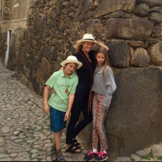 Gwyneth Paltrow Peru Vacation Pictures April 2016